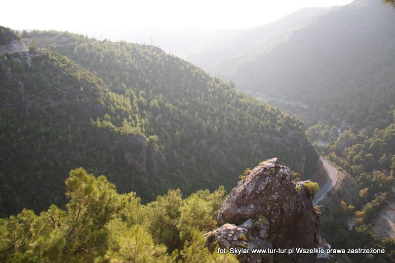 Widok z poziomu jaskini Dim