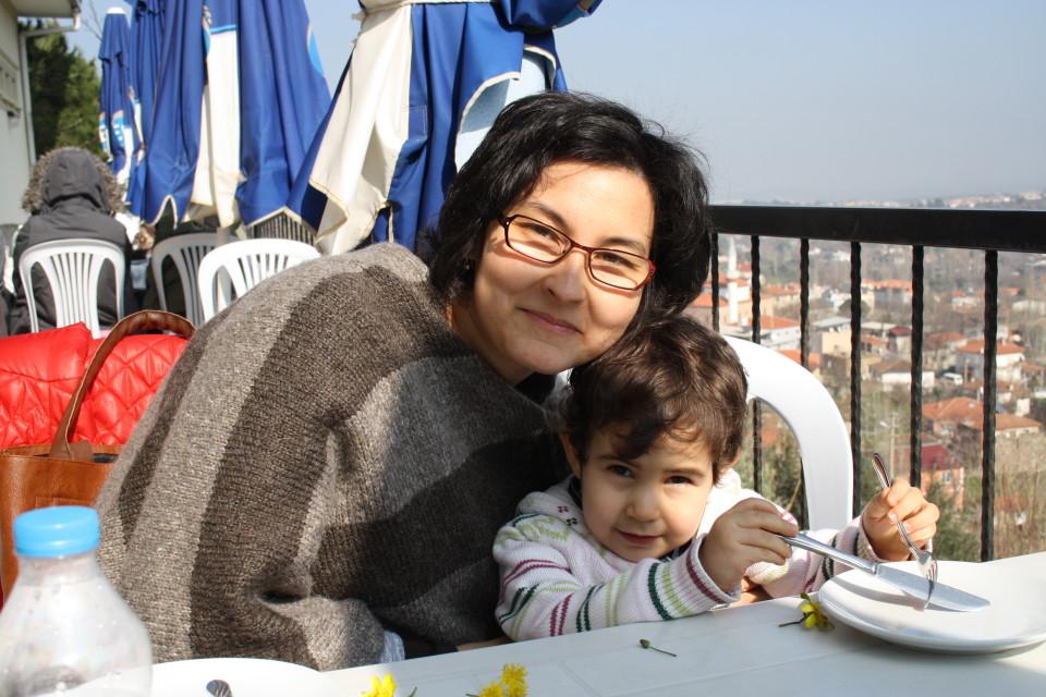 Emilia Temizkan z córką