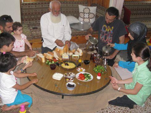 Śniadanie z rodziną