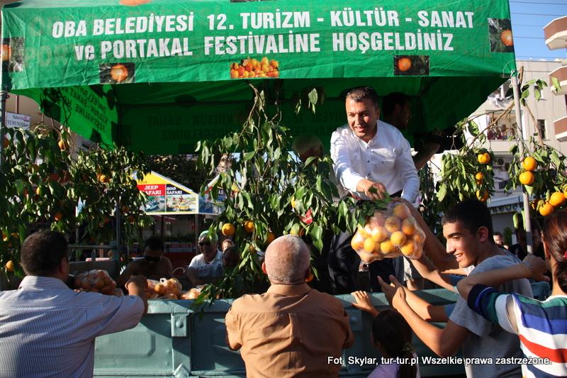 Festiwal Pomarańczy w Oba, maj