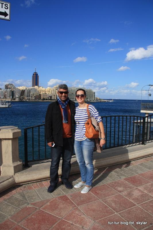 Skylar i Król na Malcie