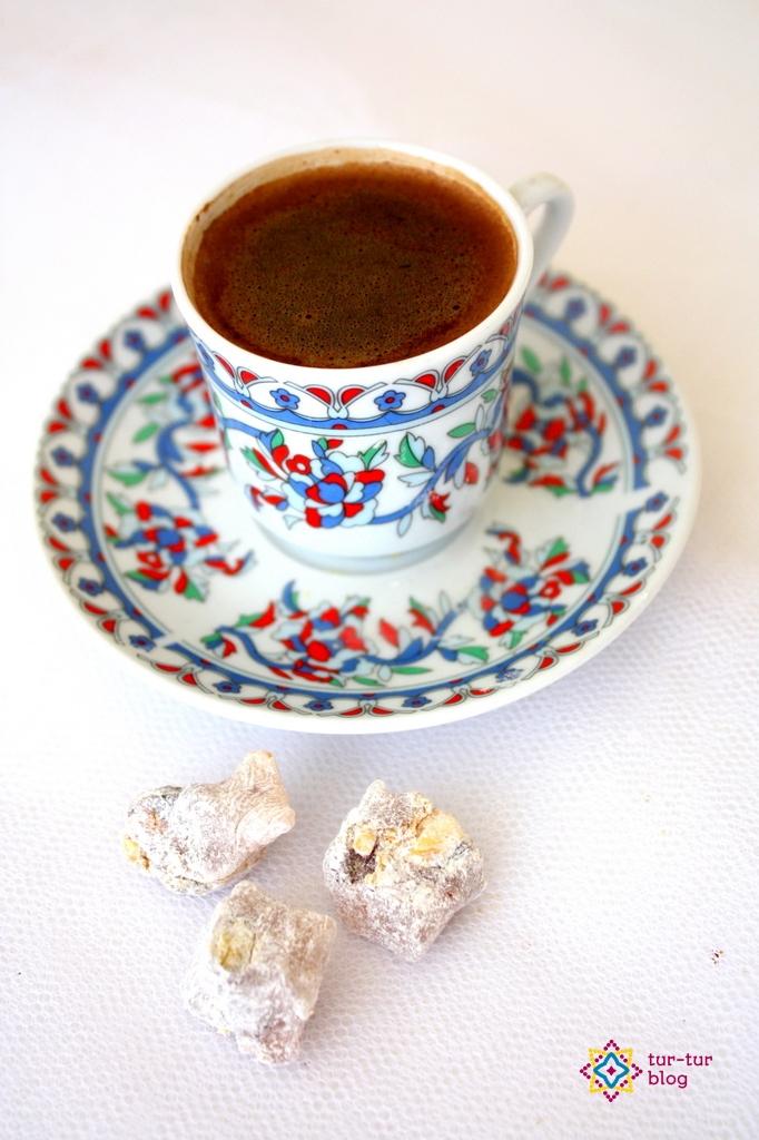 Kawa po turecku zaparzona przez Skylar :-P