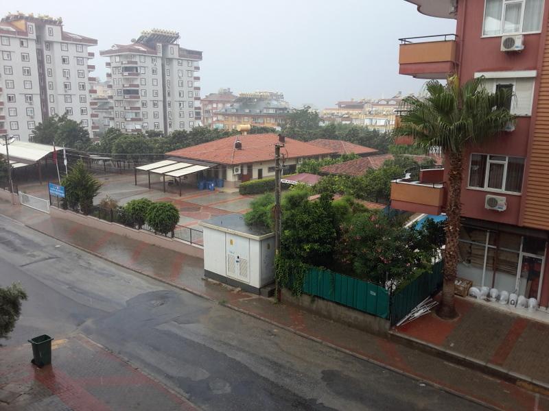 deszcz, alanya, turcja, blog, polka w Turcji