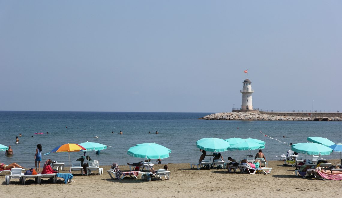 alanya, plaża