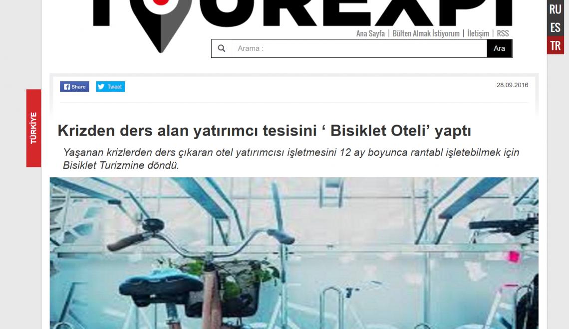 Turcja w wycinkach – 2 – Hotel dla rowerów