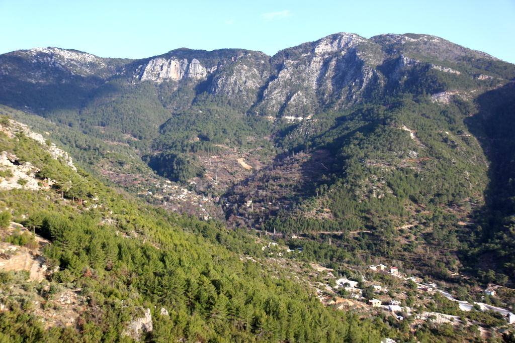 góry Taurus panorama