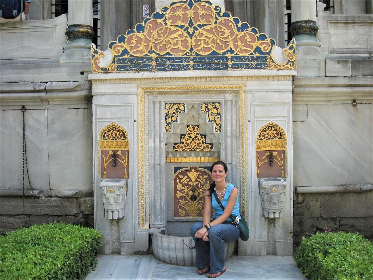 Pałac Topkapı, mój pierwszy pobyt w Stambule