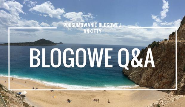 Podsumowanie blogowej ankiety czyli Tur-turowe Q&A