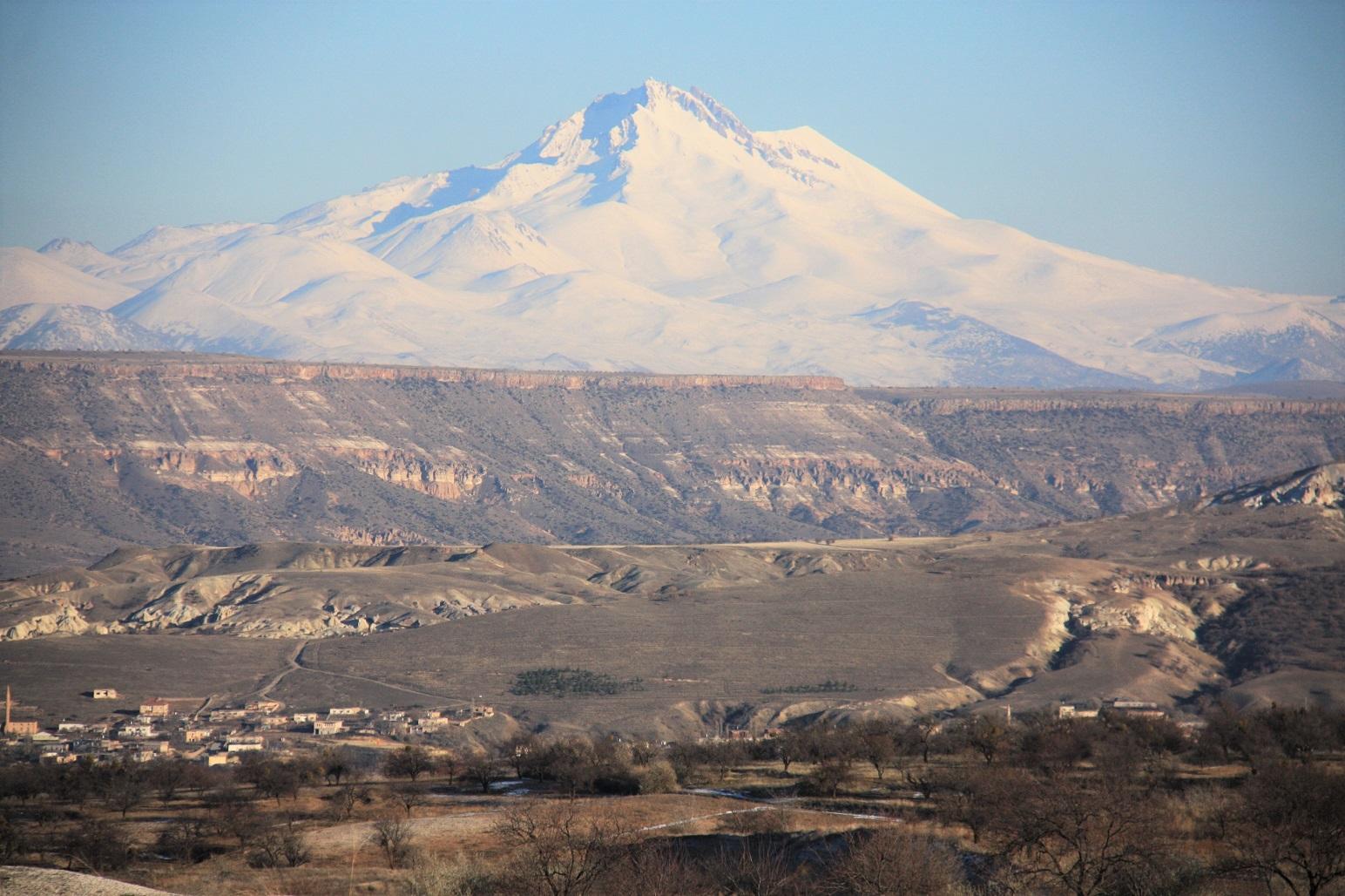 Kapadocja Wulkan Erciyes