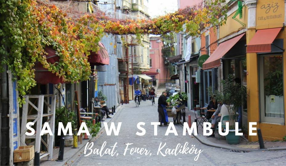 Kobieta sama w Stambule